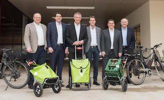 mein plan b: Bewusst gut unterwegs mit dem neuen Trolley - von plan b Gemeinden gefördert #fahrrad #bike #trolley #planbtrolley #planb #mobilität #bregenz #hard #kennelbach #lauterach #schwarzach #wolfurt #pressekonferenz #mprove #vorarlberg