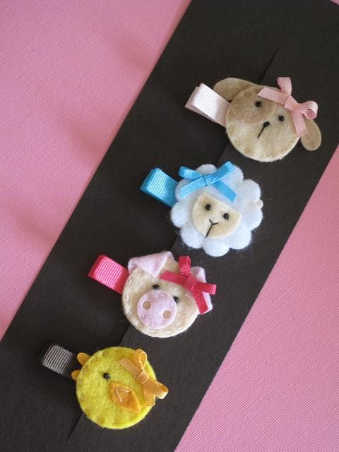 Spring Animal Hair Clip