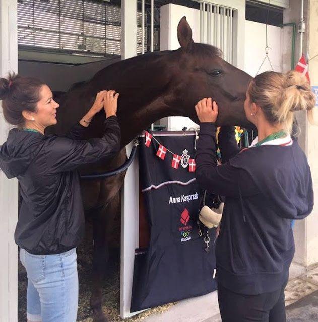 Royals & Fashion: Meeting with the Danish team riding, Rio