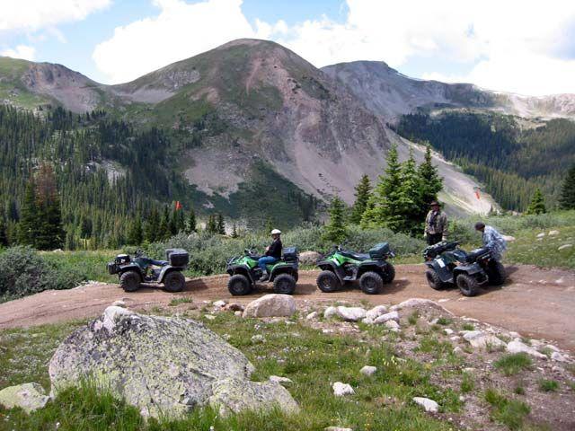 Colorado ATV trip with McInally's