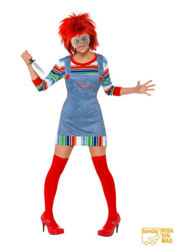Disfraz chica Chucky