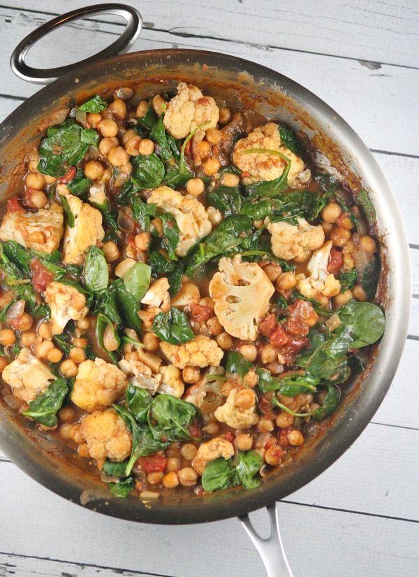 One-Pot Coconut Chickpea Curry - RecipeGirl