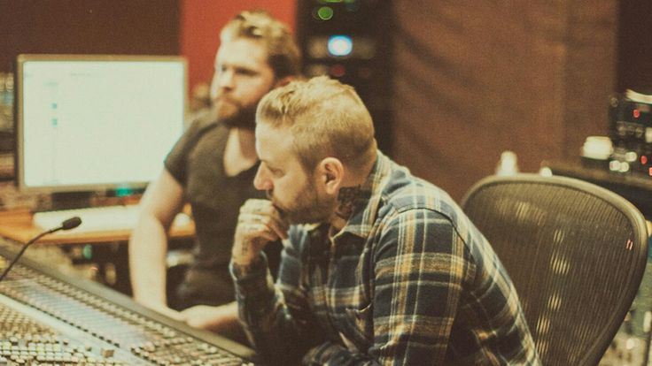 City and Colour recording their fifth studio album, If I Should Go Before You in 2015 at Blackbird Studios, Nasville, Tennessee
