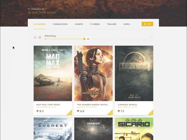 IMDb design concept - movie details
