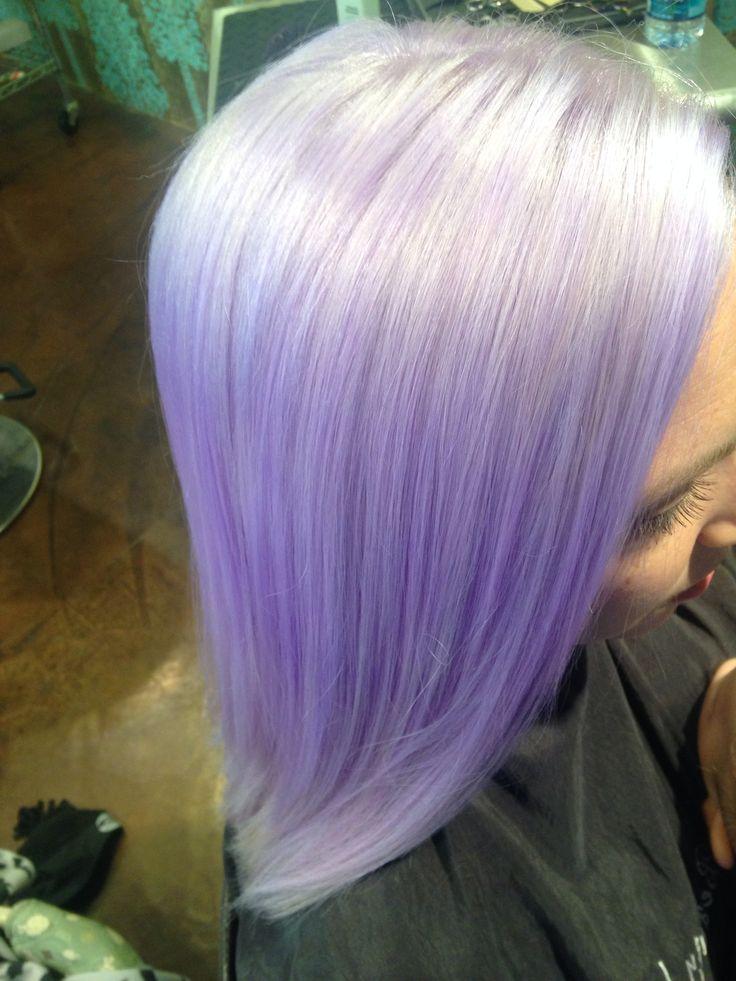 Pastel lavender hair #pravana #pastel #lavender #hair #hairbysarahballay #beautyloungenola