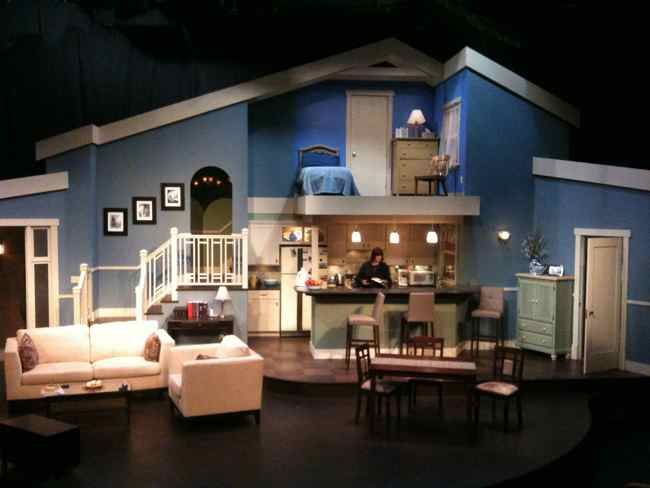 Best 25 stage set design ideas on pinterest stage set for Red chair design jackson wy