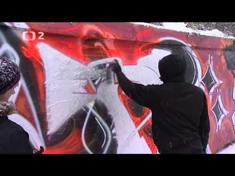Pološero  graffiti