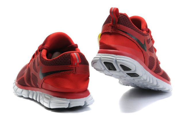 Herren Nike Free 3.0 V3 Schuhe - rot, schwarz