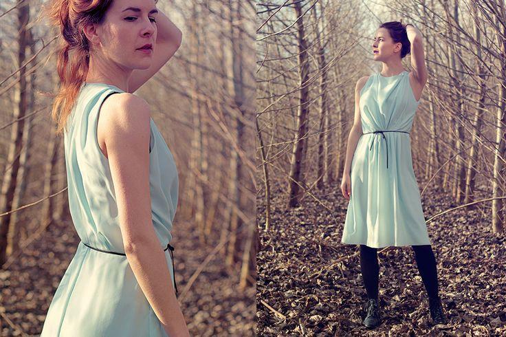 blue dress by Martinna