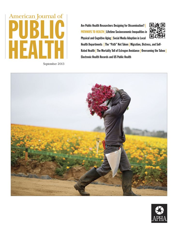 Celebrating over 100 years, the American Journal of Public Health (AJPH) is dedicated to publication of original work in research, research methods, and program evaluation in the field of public health.