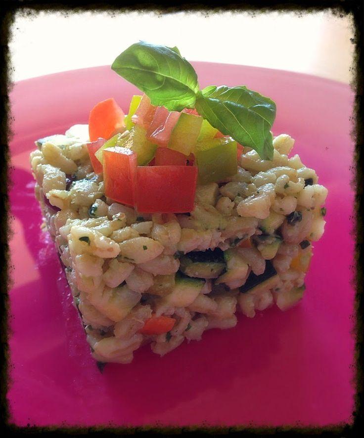 Kamut con verdure e silken tofu
