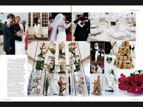 Fleur  Jo in Calvados, #Normandy, #France #WeddingHome #magazine (Aug/Sept 03)  -  Catmon Photography  +44 (0)20 71005476