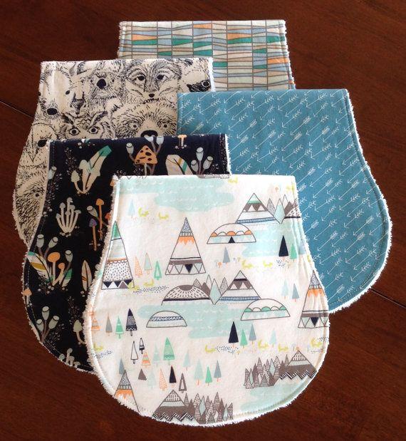Burp Cloths-Boy Burp Cloths-Woodland Burp Cloths-Burp Rags-Burp Clothes-Baby Burp Cloth-Arrow Burp Cloth-Burp Cloth Etsy-Cute Burp Cloths
