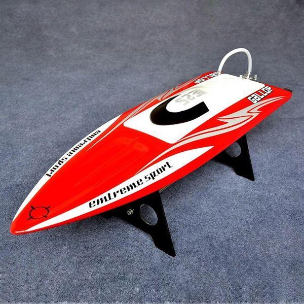 HR2703 Barco eléctrico - Gallop Reforzado con Fibra Barco Eléctrico Plástico Sin escobillas con B3653 motor 90A ESC con Soporte y Radio de Transmior Libre-Ajuste - https://xtremepurchase.com/RCHobbyShop/hr2703-barco-electrico/