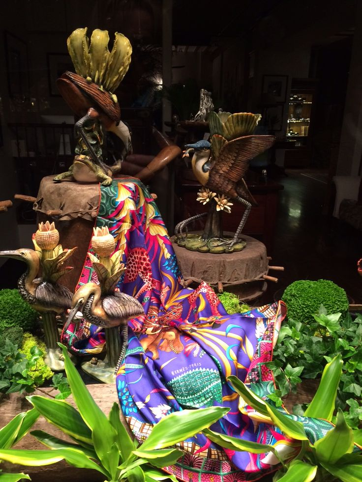 """All are welcome to come and join us at Patrick Mavros, 104-106 Fulham Rd, to view our incredible """"The Great Zambezi"""" Exhibition from 18-29 May. Fée will be presenting a slideshow to showcase the inspiration behind the theme of the Hermès scarves and our latest 2016 collection at 11:30 on Friday 20th and Saturday 21st of May."""