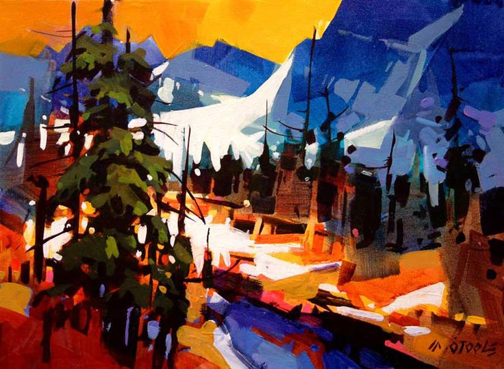 Into the Tonquin Valley, by Michael O'Toole