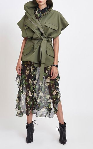 Jayden Flare Military Jacket by MARISSA WEBB for Preorder on Moda Operandi