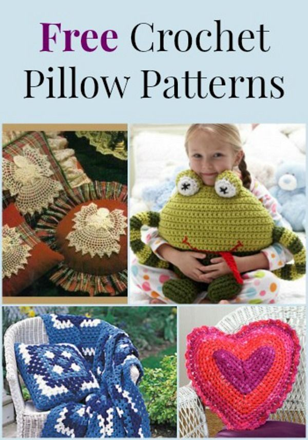 10 Free Crochet Pillow Patterns | FaveCrafts.com