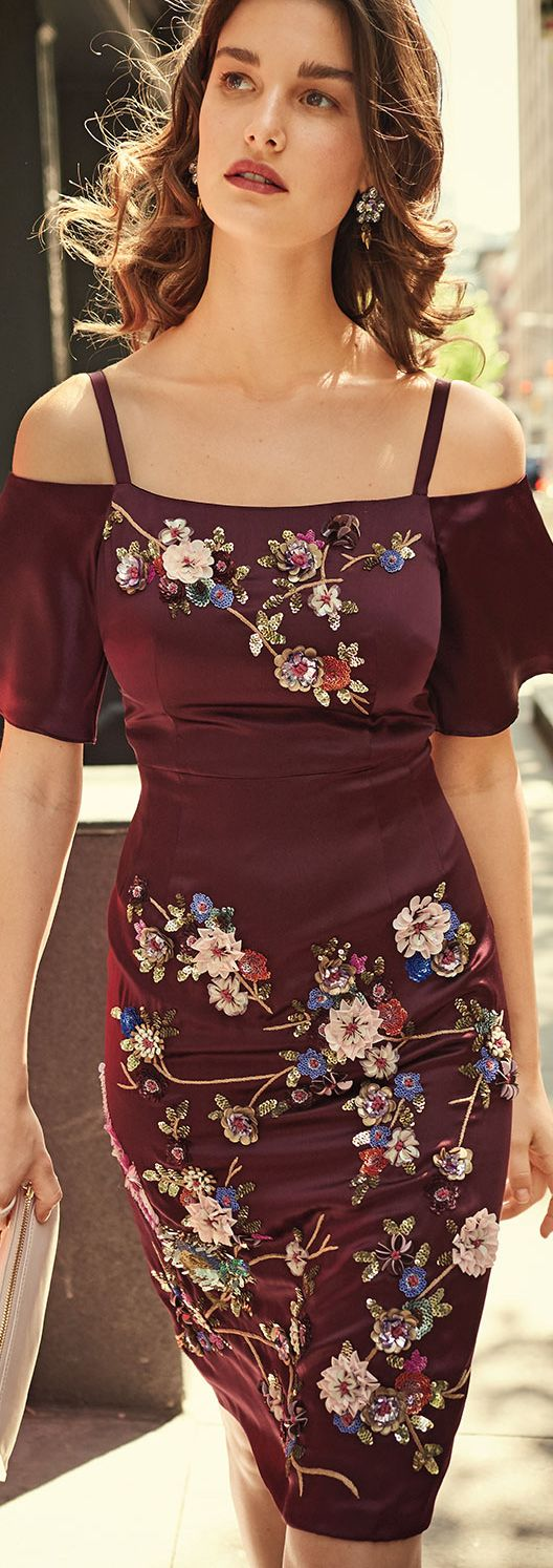 Nanette Lepore Embroidered Dress