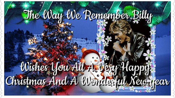 Billy Fury - Facebook Group: The Way We Remember Billy - from Christine Rodbourne