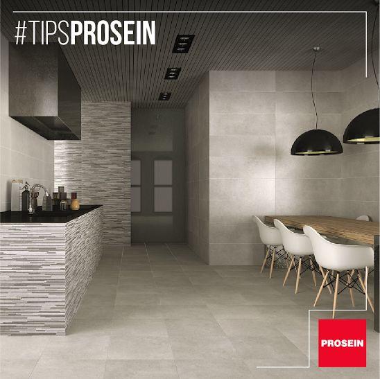 No temas en integrar el comedor a tu cocina. Ahorrarás espacio y el ambiente será más acogedor #TipsProsein