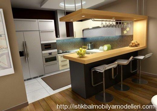 Modern İtalyan Tasarımı Mutfak Modelleri