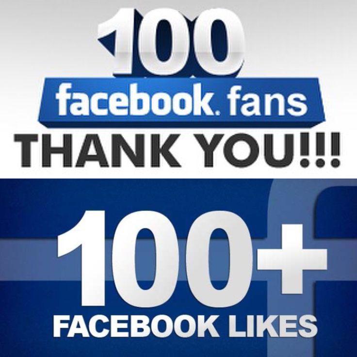 100 plus Facebook likes