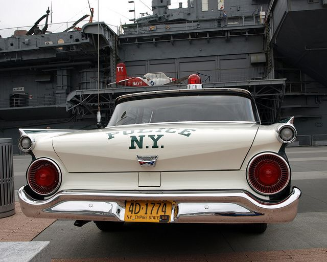 Vintage NYPD 1959 Ford Police Car, New York City by jag9889, via Flickr