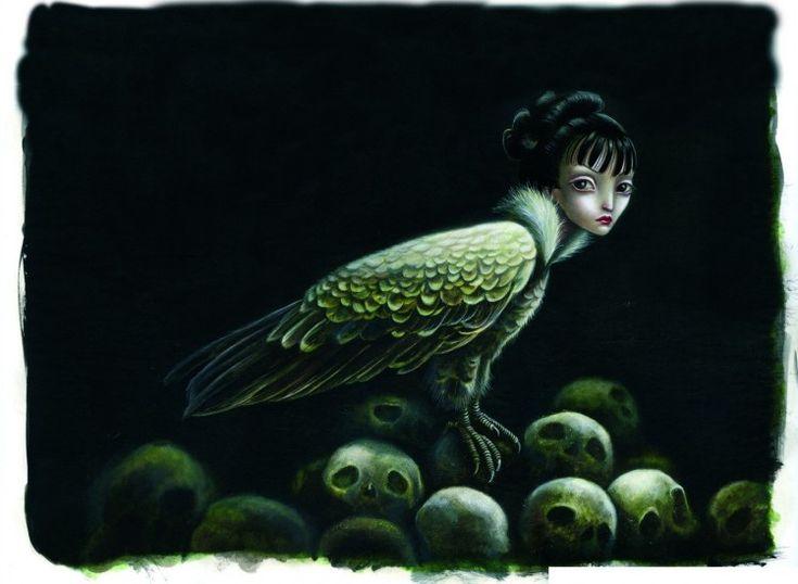 cuentos-macabros de Benjamin Lacombe