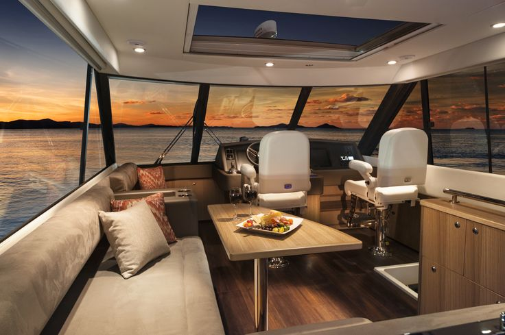 Riviera 57 Enclosed Flybridge.