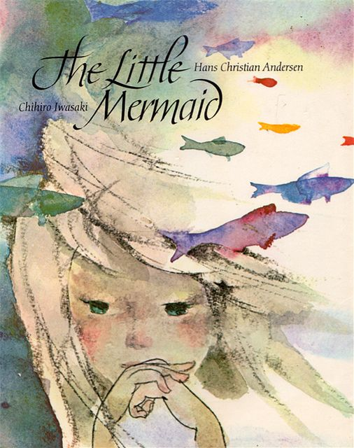 The Little Mermaid by my vintage book collection (in blog form), via Flickr