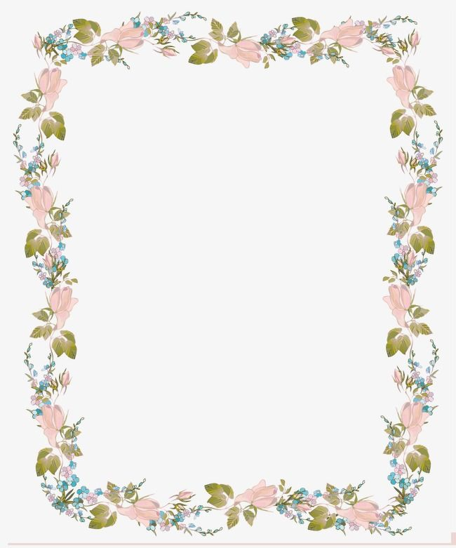 Free Images : background, watercolor, border, garden frame ... |Flower Border Designs For Wedding Cards