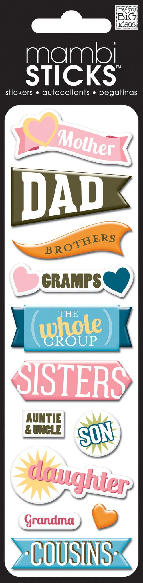Scrapbook ideas grandma - Puffy Stickers Add Dimension And Fun To Any Project So Easy To Use Just