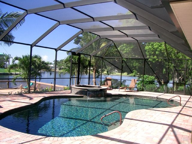 17 best images about pool screens on pinterest orlando for Pool designs florida