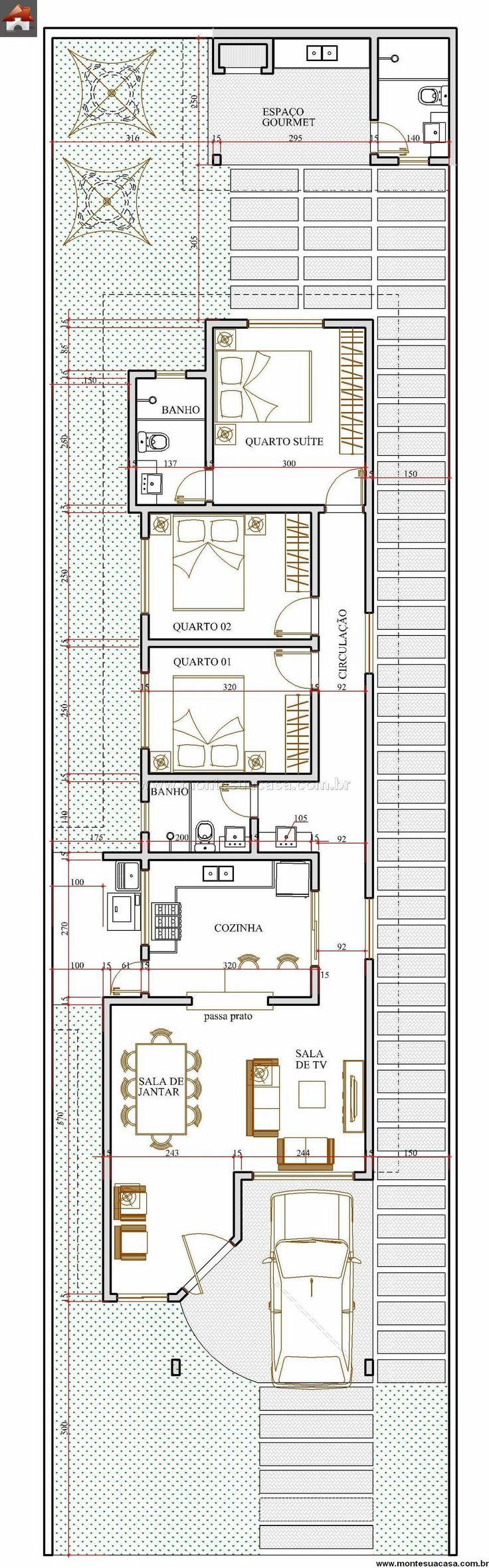 Casa 3 Quartos - 103.18m²                                                                                                                                                     Mais
