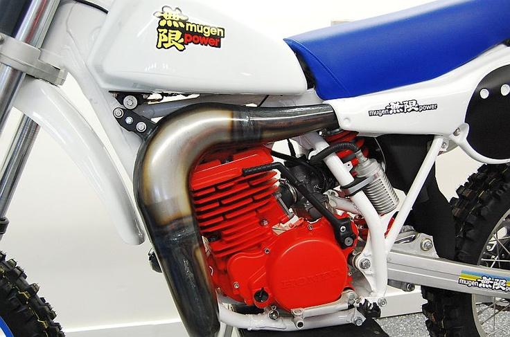Mugen Powered Honda Race Bike
