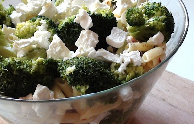 Penne, chicken, broccoli... hot or not:)