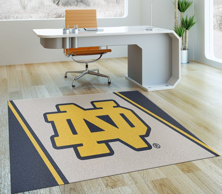 Rug Rats Is A Trusted Name In Notre Dame Fighting Irish Logo Rugs Ship For Free Show Your Pion With Mat