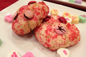 alton brown valentine's day cookies
