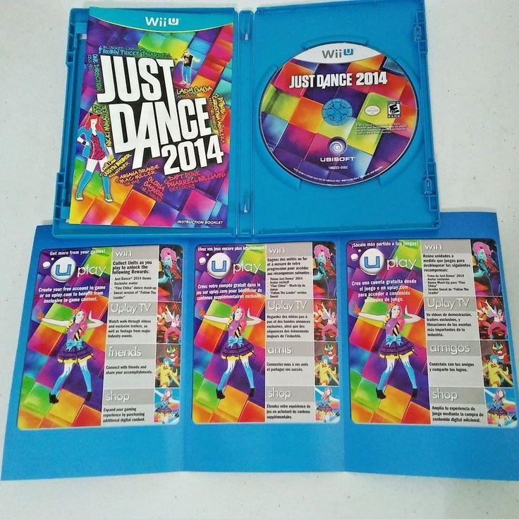 Just Dance 2014  (Nintendo Wii U, 2013) Video Game