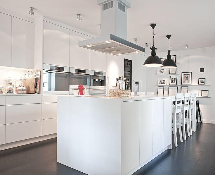 Die besten 17 Bilder zu Kök auf Pinterest | Inseln, Küchenschränke ...