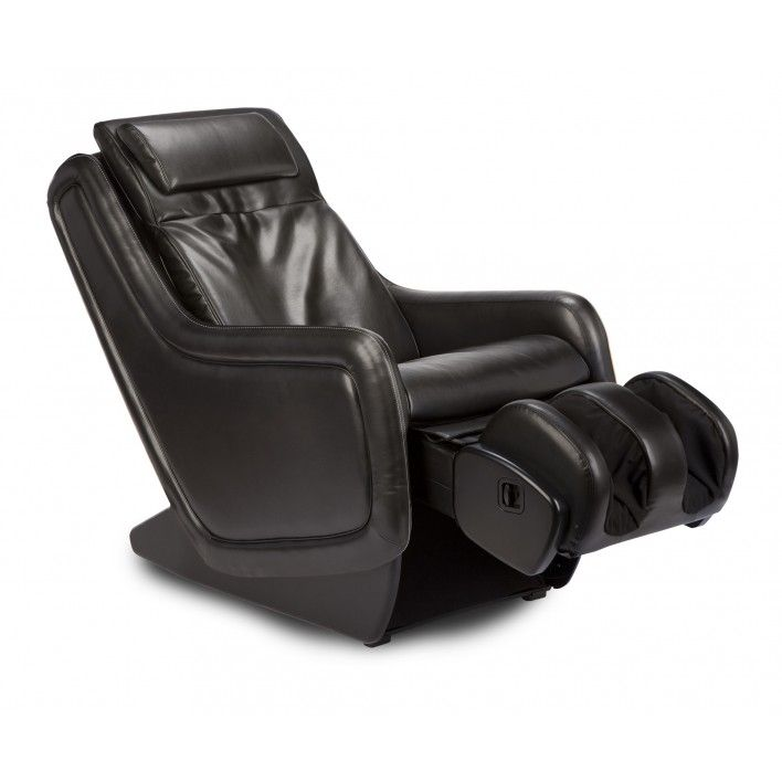 Charming Espresso Human Touch ZeroG Immersion Seating Massage Chair   Ergonomic  Massager Zero Anti Gravity Massaging Recliner In Leather Like Upholstery