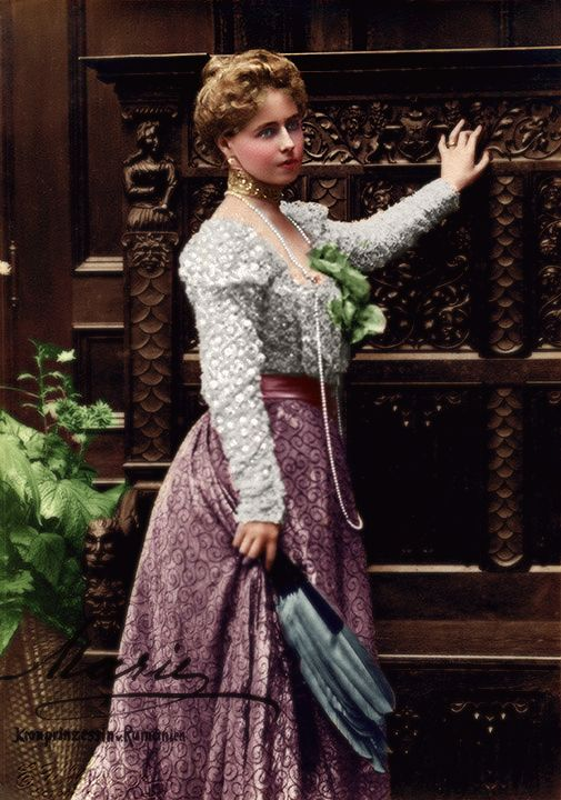 Princess Marie of Edinburgh, later Queen Marie of Romania.