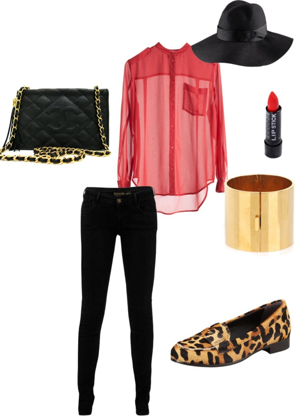 """Love for prints"" by anapopa on Polyvore"