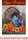 Thanksgiving Turkey Garden Flag