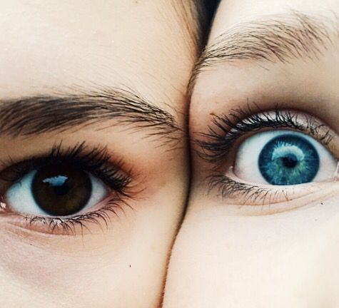 Brown and Blue ☯
