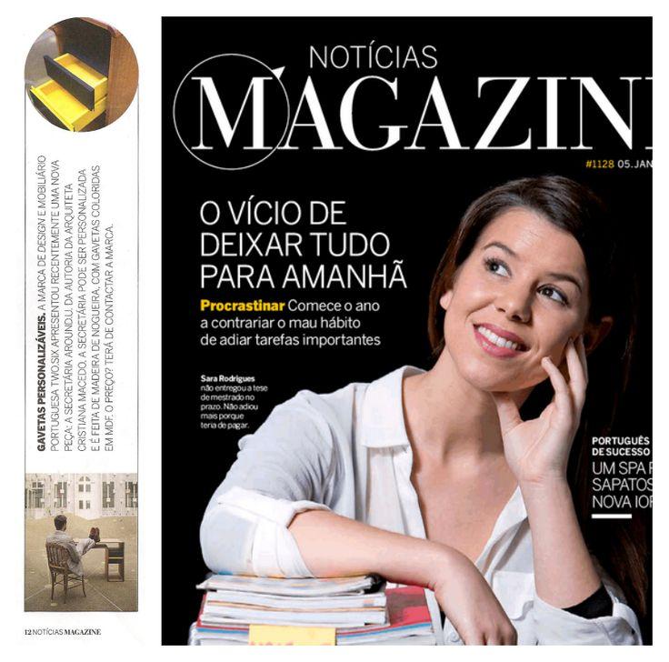 Around.U on Notícias Magazine! [Clipping]