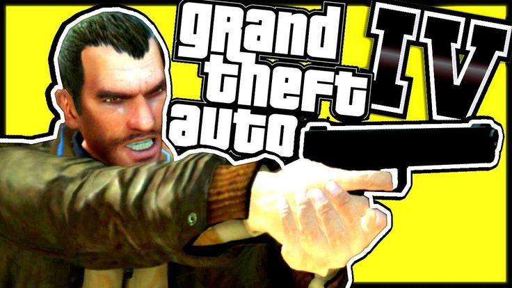 GTA 4 gameplay PC (No commentary, Free Roam, 2017) - Real Life mod - Part 2
