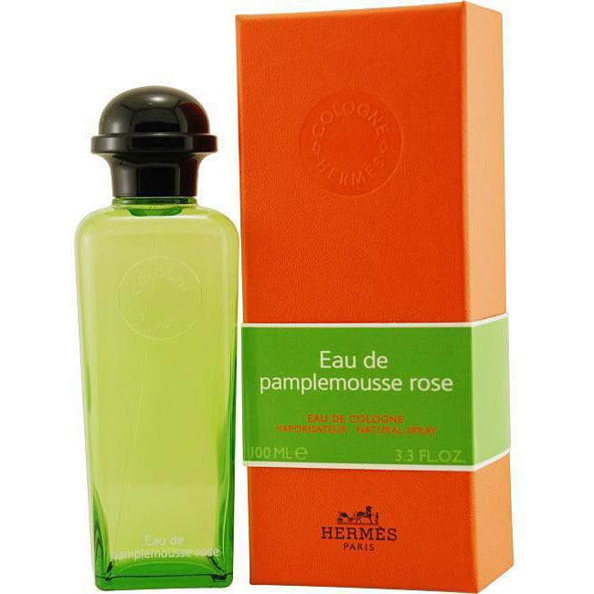 Hermes Eau De Pamplemousse Rose is a unisex scent featuring a blend of rose, orange, vetiver, rhubofix and grapefruit. This fragrance is available in a 3.3-ounce eau de cologne spray.