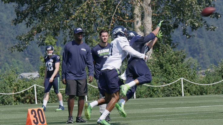 Seahawks Training Camp Highlight: Wide Receiver Jermaine Kearse Diving C...